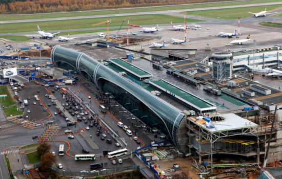 Пассажирский терминал Домодедово-2