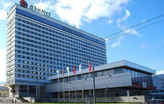 AZIMUT Отель Санкт-Петербург ★★★★