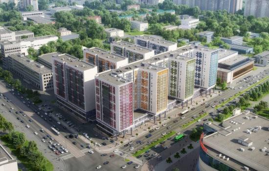 Апарт-комплекс VALO, I этап строительства.